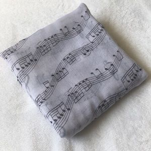 Musical Notes Scarf